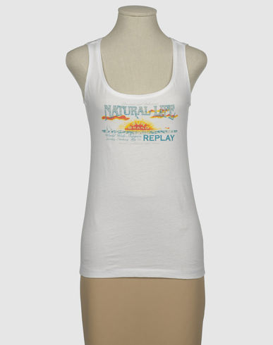 REPLAY - Sleeveless t-shirt