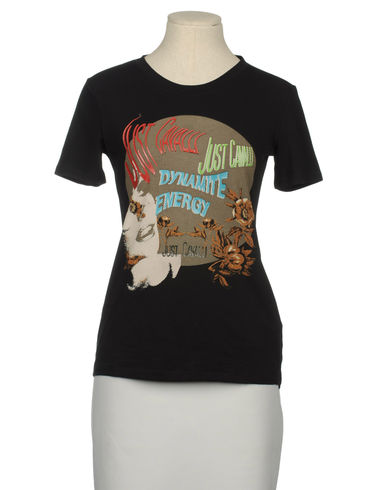 JUST CAVALLI - Short sleeve t-shirt