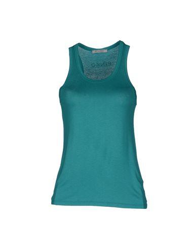 PINKO GREY - Sleeveless t-shirt