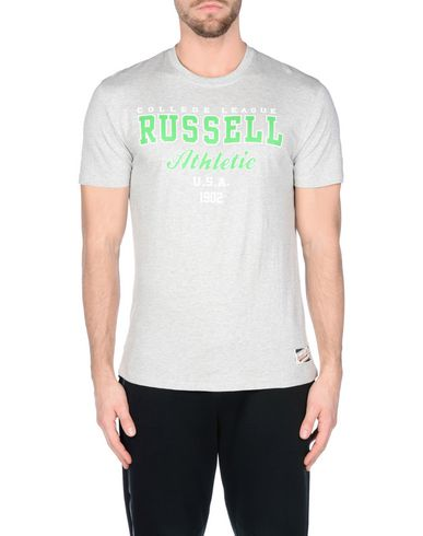 Russell Athletic Crew Neck Tee With Bright Colour Graphic Print. Russell Tee Ras Du Cou Athlétique Avec Imprimé Graphique Couleur Vive. Camiseta Camiseta des photos Nice y5WF9NXjFd