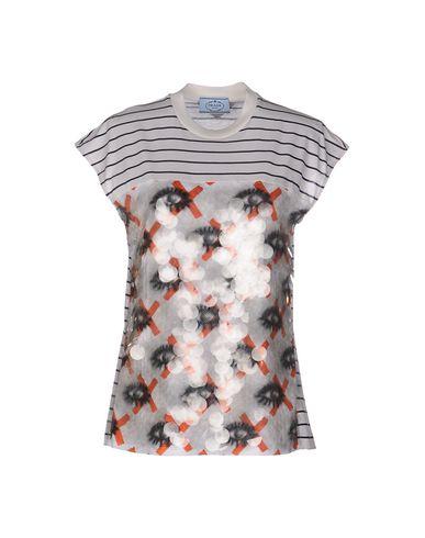 T-shirt Prada jeu commercialisable bon service extrêmement Voir en ligne pas cher fiable svwzPNa0dj