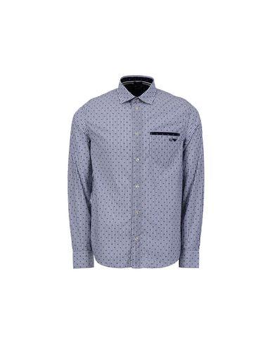 braderie chaud Armani Jeans Chemises Rayées le moins cher dédouanement nouvelle arrivée boutique d'expédition pour réduction profiter ak99teqIyN