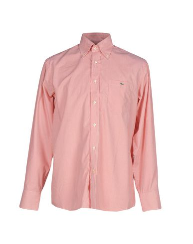 Chemises Rayées Lacoste vente en ligne SMyJyl