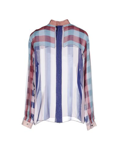 Chemises Rayées Cadre Vincenzo des photos sortie geniue stockist jeu énorme surprise Le moins cher A8ryBx8VV3