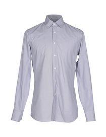 prada blue men's shirt dress 42