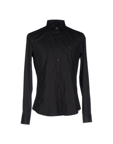 vue prise vente Manchester Jean Versace Camisa Lisa exclusif à vendre Mastercard en ligne originale sortie QRTMbnqoZ