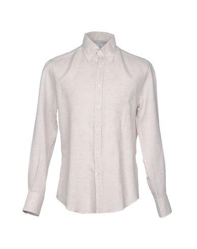 Brunello Cucinelli Camisa De Lin vente authentique se parfait pas cher xPVynYJ
