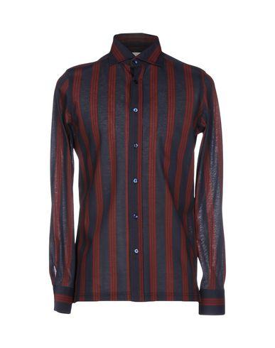 vente nicekicks Chemises Rayées Giampaolo fourniture en vente vente eastbay énorme surprise vGstWMpOC