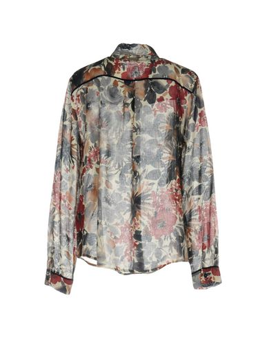 Les Chemises De Lin Fabbrica Et Chemisiers Fleurs vente SAST VMD339l