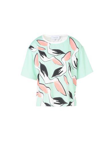 Conception Studio Leo Courte Soie T-shirt Blusa