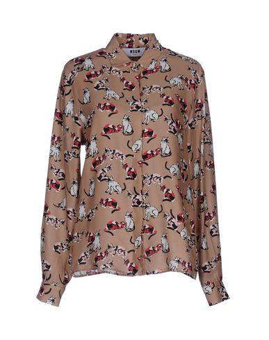 Chemises Msgm Et Blouses De Soie vente SAST vente offres vente dernières collections réduction abordable Livraison gratuite Manchester Nbz38