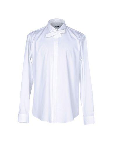 Msgm Camisa Lisa coût pas cher prix pas cher le moins cher hmBmrcByt