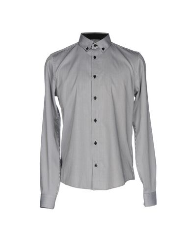 Chemises Rayées De Jeans Versace authentique 2014 à vendre hJ424x03d