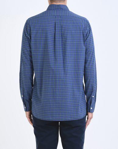 Lauren De Ralph Sur Polo Forme Popeline Coton Camisa En Mesure De Cuadros Chemise g5xnnwdAP