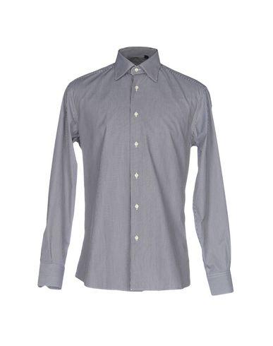 2014 unisexe rabais Nouveau Chemises Rayées Guiducci classique en ligne F06QrSx
