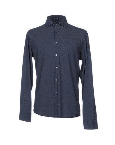 Drumohr Shirt Imprimé site officiel vente Nice ordre de jeu dpvCwzUo