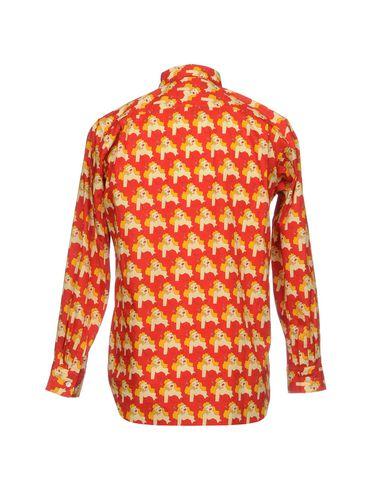 Comme Des Garçons Homme Plus Camisa Estampada images footlocker sortie AgHSPQTT