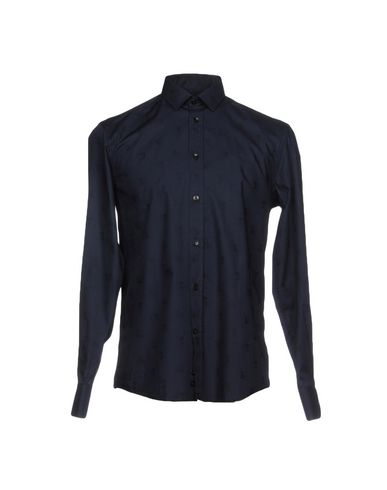 vente Footaction réduction Nice Versace Collection Camisa Lisa SUnCfYfyH