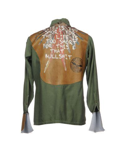 Livraison gratuite exclusive 2014 unisexe Pihakapi Camisa Estampada Manchester rabais jeu 2015 kfljGHNl