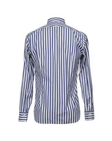 Alessandro Gherardi Rayé Chemises vue rabais parcourir à vendre kvnsjmC