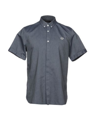 Fred Perry Camisa Lisa acheter plus récent wiki pas cher vente prix incroyable MIp4Z7WU