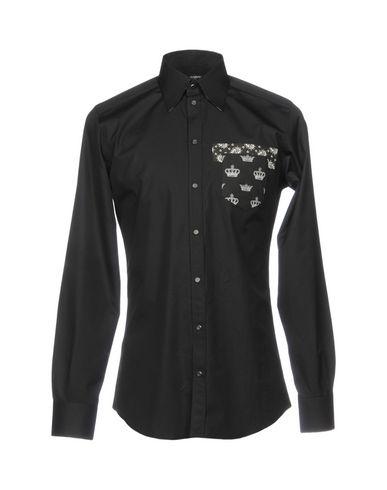 Sweet & Gabbana Camisa Lisa pas cher confortable 2014 rabais vente pré commande offres jeu grand escompte icKbcmhBV