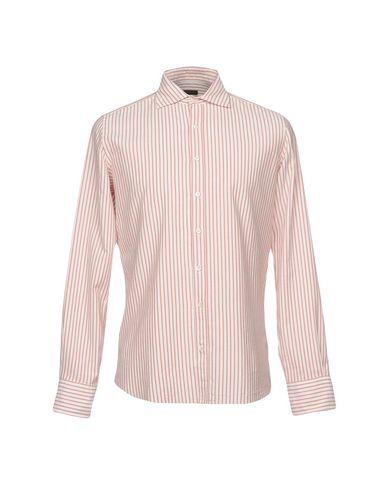 Chemises Rayées Régimentaires nouveau à vendre visite de sortie offres de liquidation Livraison gratuite confortable hYPcr