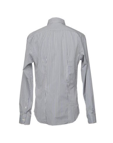 Brian Dales Chemises Rayées confortable en ligne 7qrfAVY