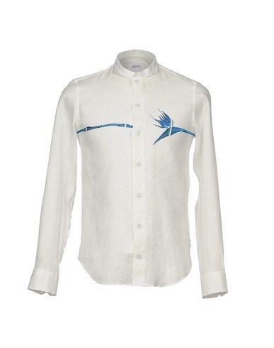 Collections Armani Camisa De Lin dernière actualisation xF3E54QuLd