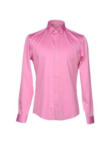grand escompte sites de dédouanement Versace Collection Camisa Lisa Manchester rabais achats en ligne vente Hfl8oys5S