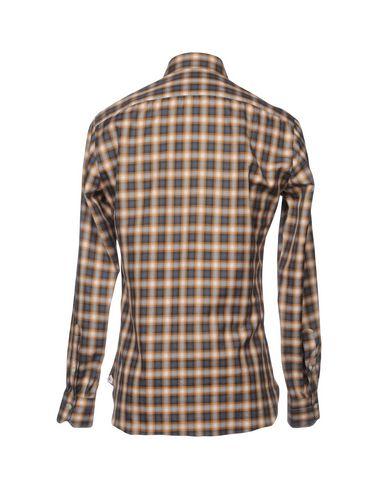 Chemise À Carreaux Isaia sortie 2014 nouveau magasin de dédouanement cool parfait y3y8sQc