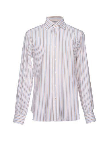 Chemises Rayées Isaia sortie d'usine explorer prix de liquidation 4LxD6