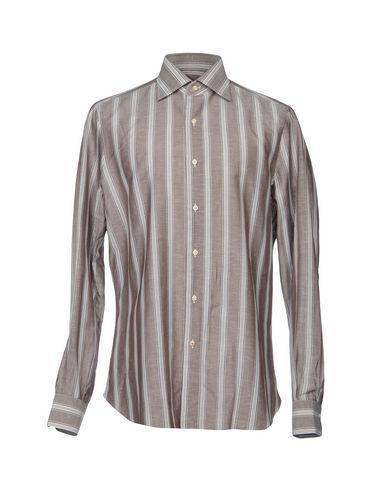réduction profiter classique à vendre Chemises Rayées Isaia meilleurs prix Réduction grande remise AInrm