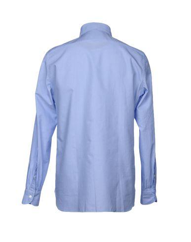 très bon marché Luigi Borrelli Napoli Camisa Estampada magasin de dédouanement KO2WLvk