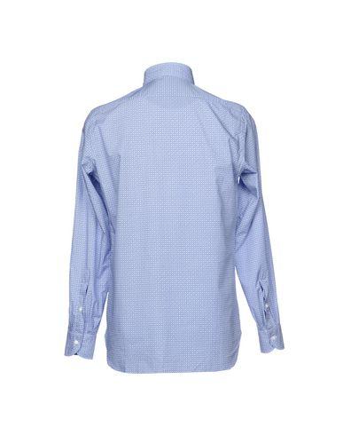 vente Manchester très bon marché Luigi Borrelli Napoli Camisa Estampada populaire en ligne boutique d'expédition pour tR2cLDL