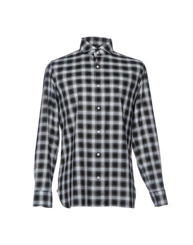 achats en ligne nouvelle mode d'arrivée Luigi Borrelli Napoli Camisa De Cuadros vente grande remise Jjgry