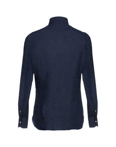 acheter le meilleur vente dernière Luigi Borrelli Napoli Camisa Estampada o7HWvN