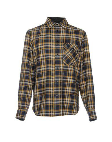 vente 100% d'origine Shirt Chiffon Et Carreaux D'os prix d'usine RR0qjv