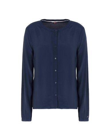 13 Camisas Y Blusas Blouse Rn Base De Jean Tommy L / S De Lisas