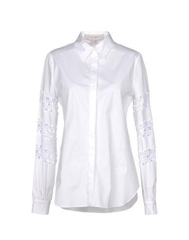 Caroline Chemises Et Blouses De Herrera Dentelle best-seller pas cher la sortie dernière faux rabais livraison rapide Hwcqmt