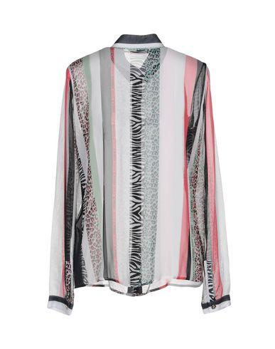 Chemises Rayées De Jeans Versace visite rabais WogWJBVV
