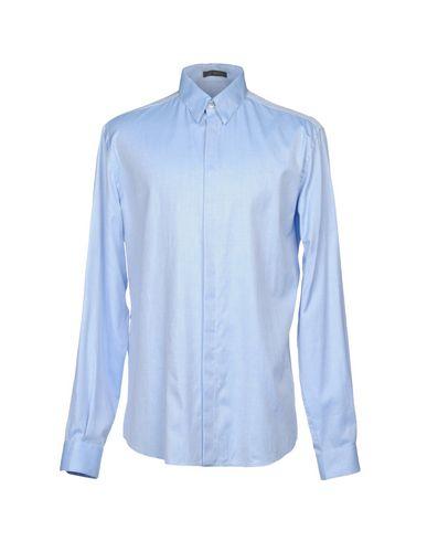 Versace Camisa Lisa Livraison gratuite rabais recommander en ligne QkF4Ufe