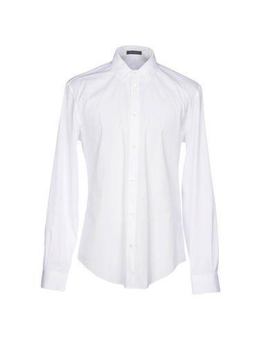 Versace Camisa Lisa pas cher profiter réduction eastbay g5SjJPrpw
