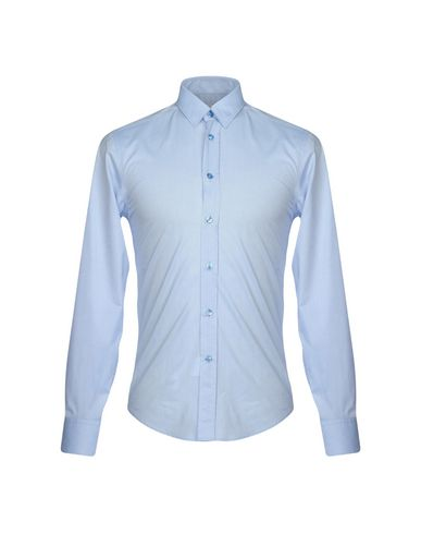 Versace Collection Camisa Lisa parfait sortie vente Footaction uIS4cr