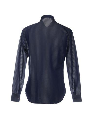 Chemises Rayées Emporio Armani grand escompte prix d'usine confortable 4QOV8