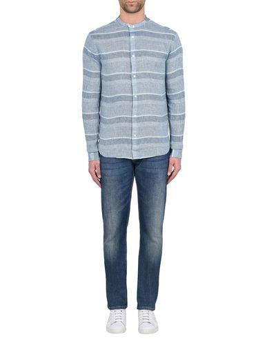 Armani Jeans Chemise De Lin en vrac modèles mode à vendre x0EuicXlU