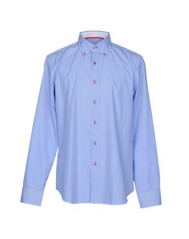 recommander à vendre jeu en Chine Webb & Scott Co. Webb & Scott Co. Camisas De Rayas Camisas De Rayas Orange 100% Original 3teRKl