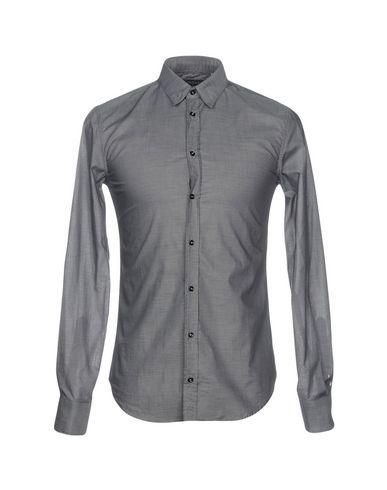 Mangano Camisa Lisa sortie SAST pas cher où puis-je commander images de vente 0TLjaiAcM