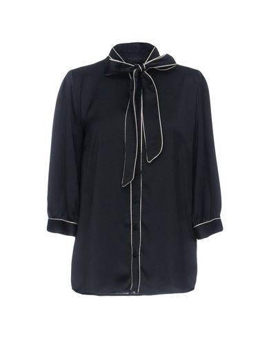 Anna Rachele Chemises Étiquette Noire Et Chemisiers Avec Arc officiel de vente WMbmY