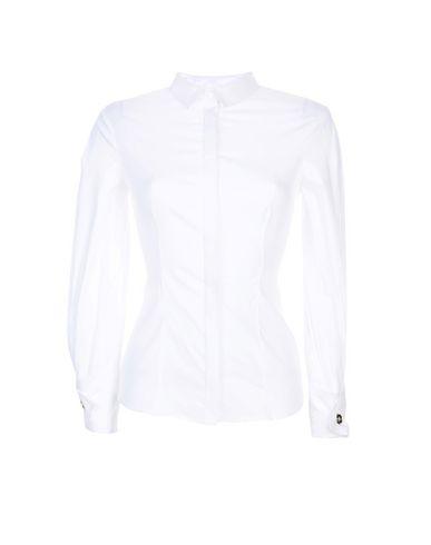 Elisabetta Franchi Chemises Et Chemisiers Lisses à jour prix incroyable collections à vendre sortie rabais prix pas cher 4Xd1Vm